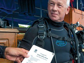 dive prep checklist