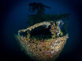 Guam shipwreck