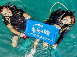 Project AWARE Divers