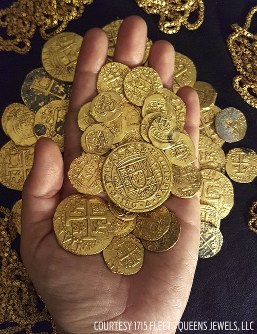 Florida Treasure Hunter Finds 1 Million In Gold Coins