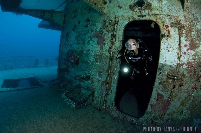 USS Vandenberg — Florida Keys, USA