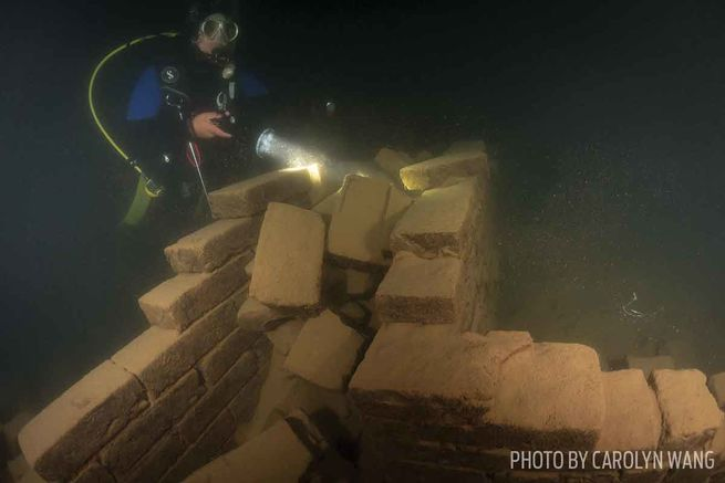 The Underwater Lion City In China S Qiandao Lake Sport Diver