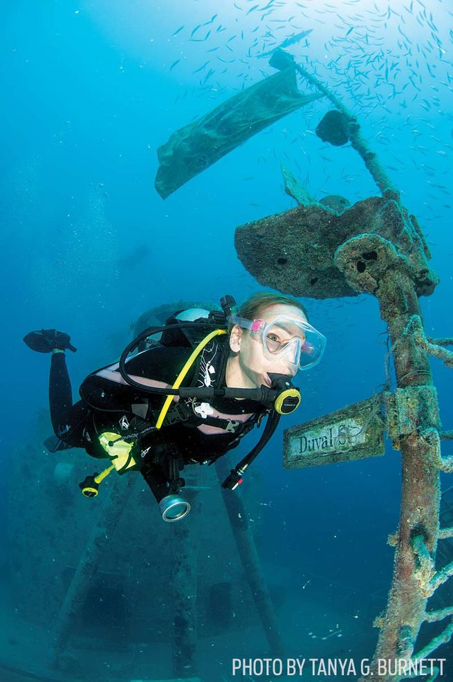 The 10 Best Cruise Ship Ports For Scuba Diving