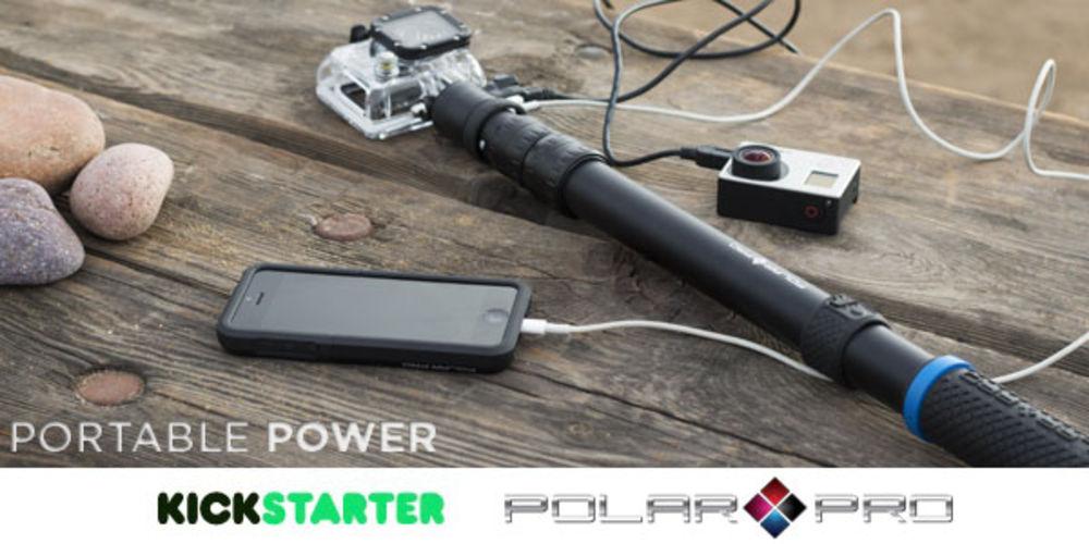 Featured Kickstarter: PowerPole Battery Integrated GoPro Extension ...