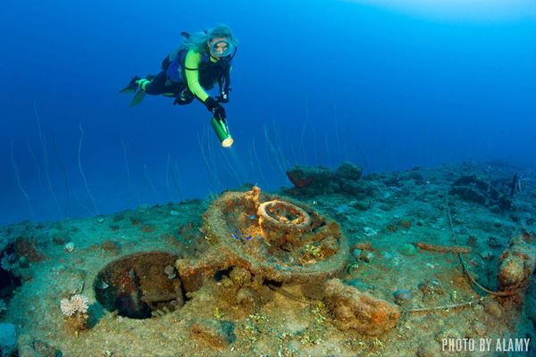 Diving the Nuclear Ghost Fleet at Bikini Atoll   The Scuba Doctor Deepscape