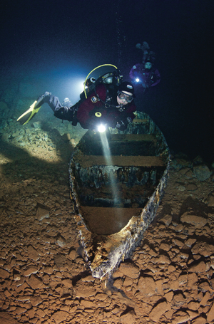 scuba diving bonne terre mine