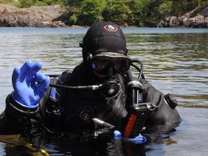 first facebook message underwater