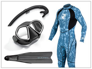 freediving gear