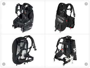 New scuba diving BCs from Seac, Cressi and Scubapro
