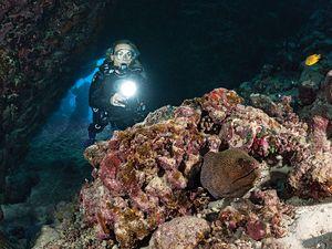 Scuba diving gear for deep diving