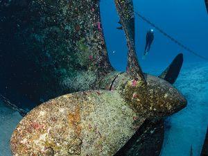 cayman islands shipwreck