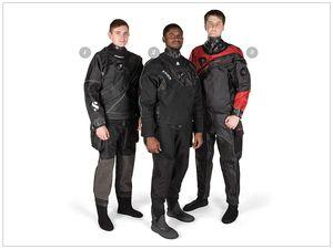 scuba diving drysuits